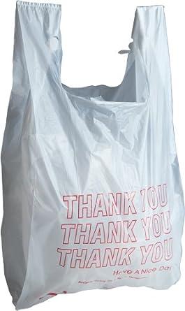 Paquete de 500 bolsas de plástico de agradecimiento de 15 x ...