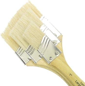 Pack of 3 White Royal /& Langnickel Oriental Hake Large Area Brush
