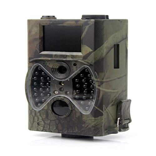 bxbx Hunting Camera, 12 Million Hd Photo Outdoor Sports Camera, 2 Inches Hd, Infrared Light Illumination Distance 20 Meters, Resolution 40323024, Field Infrared Surveillance Camera