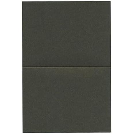 Amazon.com: JAM papel Curious Foldover tarjeta – 4 5/8 x 6 1 ...