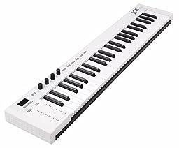 midiplus X4 mini MIDI Keyboard Controller, White