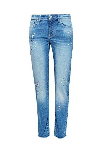 Blue Medium Femme Jean Boyfriend Esprit by Bleu edc Wash 902 cY6Twqax