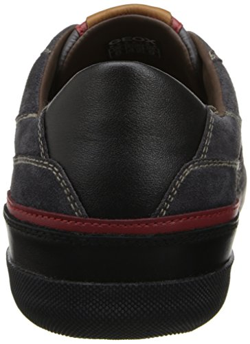 Chaussures Basses Geox U Box A - Suede U44r3a-00022 / C9005 Pour Homme, Gris 45 Eu