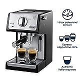 """DeLonghi ECP3420 Bar Pump Espresso and Cappuccino Machine, 15"""", Black"""