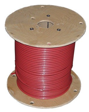 Red Thhn Wire (Building Wire, THHN, 8 AWG, Red, 500ft)