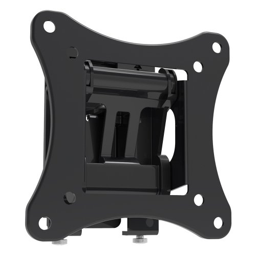 Universal Tilting TV Wall Mount - Slim Quick Install VESA Mounting Bracket for TV Monitor, Mounts 10 to 24 Inch HDTV, LED, LCD, Plasma, Flat, Ultrawide Smart Television Up to 15 KG - Pyle PSWLB61