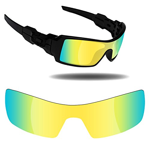 Fiskr Anti-Saltwater Replacement Lenses for Oakley Oil Rig Sunglasses - Various - Rig Oil Sunglasses
