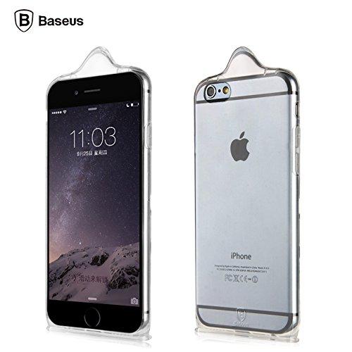 iPhone 6 Case - Baseus iCondom Case for iPhone 6/6 Plus - Exclusive Condom Design (iPhone 6)