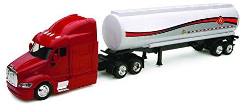 Tanker Truck - NewRay USA Peterbilt 387 Petroleum Transport Tanker