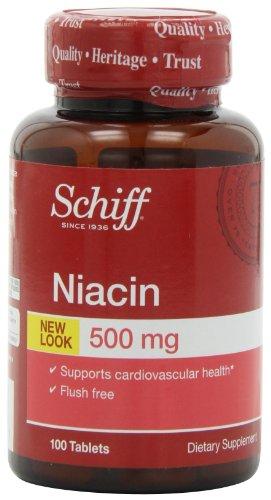 Шифф Никотиновая кислота 500 мг Дополнение, 100 Граф