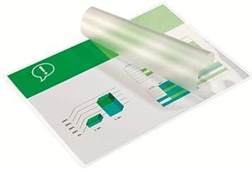 GBC IB585036 - Carteras de Plastificación con brillo, A4, 2 x 80 micras, pack de 100: Amazon.es: Oficina y papelería