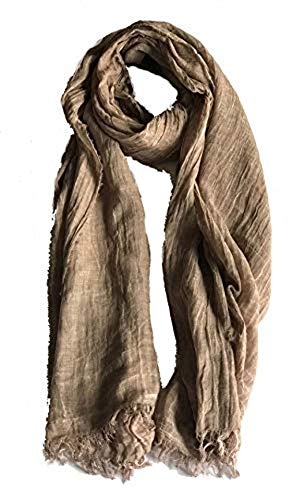 ColbyCo Pure Natural Cotton No Synthetic Fibers Unisex Scarves - Multi Colors/Styles