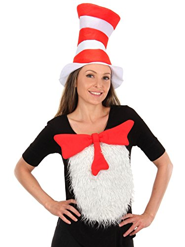 Dr. Seuss Cat in the Hat Unisize Insta-Tux Kit by (Dr Seuss Cat In The Hat Costume)