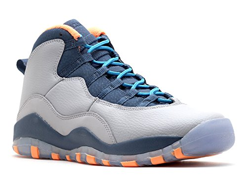 Air Jordan 10 Retro (GS) - 4.5Y ''Bobcats'' - 310806 026 by NIKE
