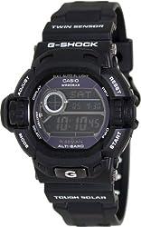 Casio G-Shock Riseman Multi-Function Digital Black Resin Mens Watch G9200BW-1CR