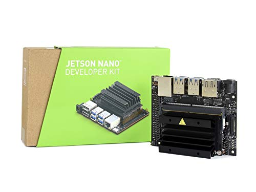 waveshare NVIDIA Jetson Nano Developer Kit Small Powerful Computer for AI Development Run Multiple Neural Networks in Parallel for Image Classification Object Detection Segmentation Speech Processing