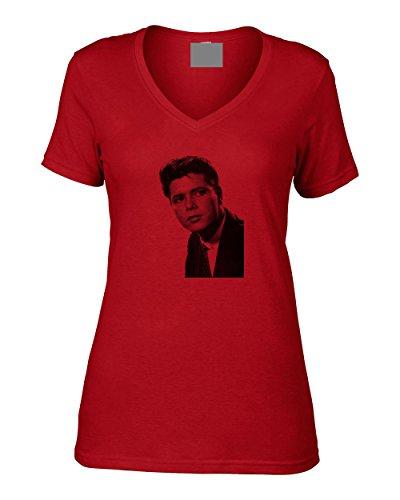 Vintage Magazine Company - Camiseta - para mujer Rosso