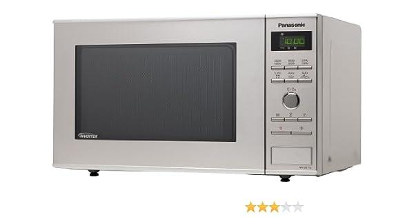 Panasonic NN-SD271SEPG - Microondas (950 vatios, 23 litros), acero inoxidable (importado de Alemania)
