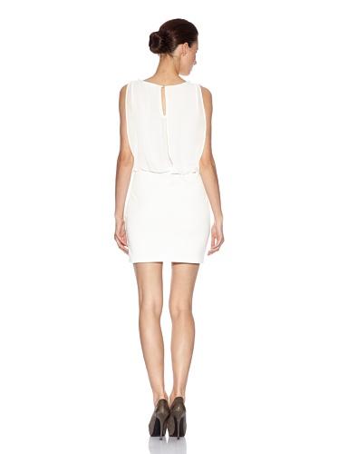 Avenue Kleid Weiß Faune S Paris rYqSr