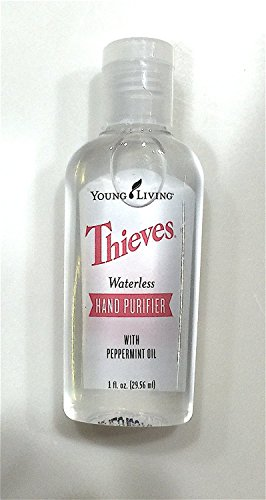 Thieves Waterless Hand Purifier 1 fl. oz. by Young Living Essential Oils (Young Living Purifier)