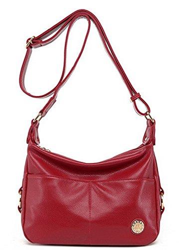 Rouge GMBBB181646 main Jaune Sacs Cross Cartable AgooLar bandoulière Body à Femme Achats à Sacs qHwx1SOnP