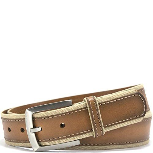 Bill Lavin Leather Baldassare Belt - Tan (Bill Lavin Belts)