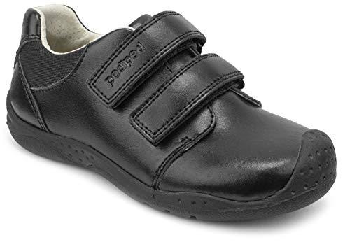 pediped Boys' Matthew Uniform Dress Shoe, Black, 26 Child EU Big Kid (9-9.5 US) (Pediped Boys Dress Shoes)