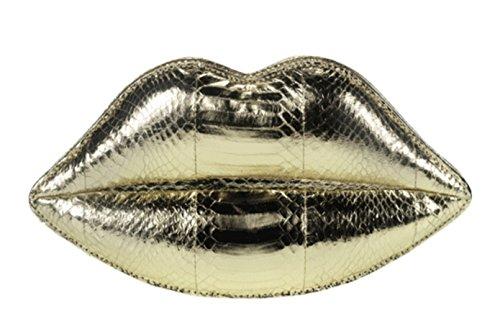 Lulu 50006670 Small Donna Oro Guinness Gold Poschette Giorno Metallic rA1Brqv