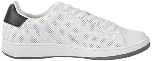 Lotto Men's 1973 V Micro Low-Top Sneakers, White White (Wht/Blk)