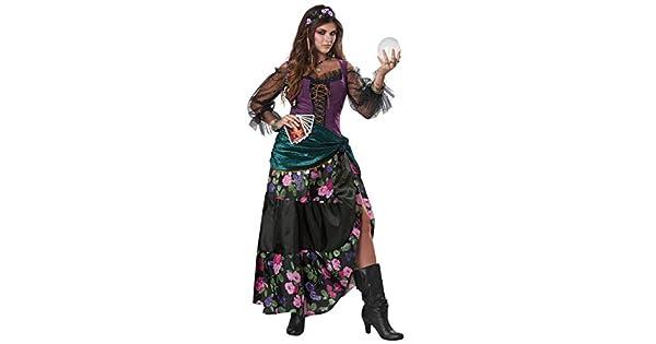 Amazon.com: Disfraz bohemio para mujer con encanto: Clothing