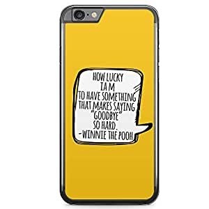 Loud Universe Winnie The pooh iPhone 6 Plus Case Quote from Pooh iPhone 6 Plus Cover with Transparent Edges