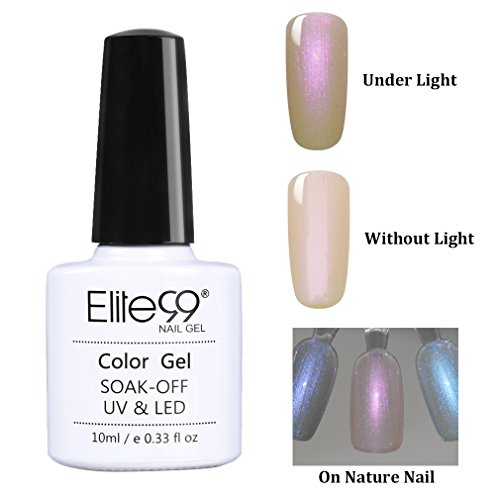 Elite99 Nail Gel Polish Shell Beach UV LED Soak Off Color Ma