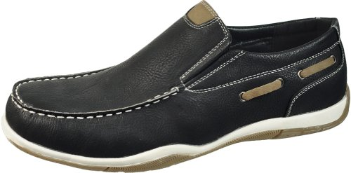 Sedagatti Mens Luxury Casual Lace Up Boat Shoes