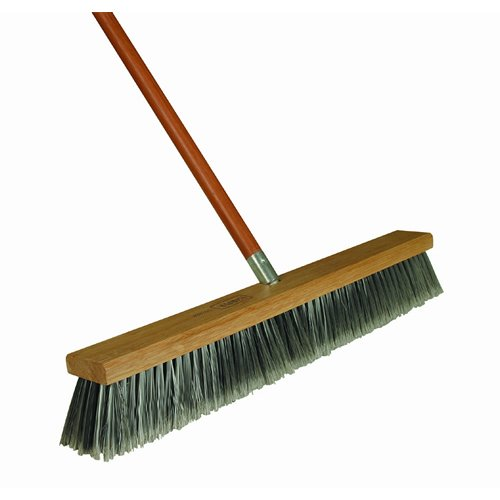 Harper Brush 582218SC 18-Inch Fine Push Broom (SOLD AS BROOM HEAD ONLY. HANDLE SOLD SEPARATELY.) Jensen Home HH-32604431