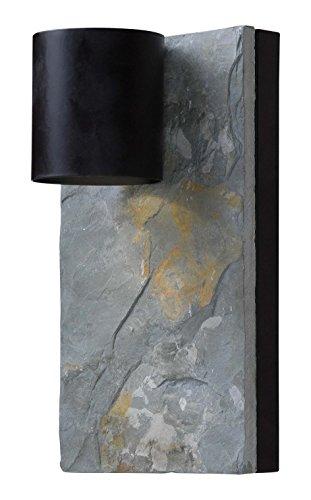 Dark Bronze Outdoor Hanging (Kenroy Home 93541ORB Frederick 1-Light Dark Sky Lantern, Blackened Oil Rubbed Bronze)