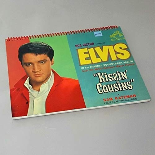 Elvis Presley Vintage Vinyl Kissin Cousins Soundtrack Books Graceland Notebook Album Covers Custom Diary Note Pad Country Gifts