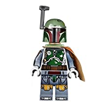 Boba Fett (Boba Fett) 1 body and its accessories | will be the one that comes with the Lego Star Wars 75060 UCS slave ‡T (sales 2015). The newest 2015 version of Boba Fett. Attached in the set of UCS # 75060 Slave I. Although this version may seem similar to other Boba minifigures in many ways but it is actually different in most areas. The arms torso legs hips and face are all different than the prior version. [parallel import goods]