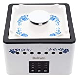 Boltwin Portable Home HEPA Filter Air Purifier 3 in 1 with Innovative Ceramic Ashtray Design, Desktop Negative Ion Cleaner, 8000mAh Battery for Smokers, Second Hand Smoke, Pets, PM 2.5 Purification