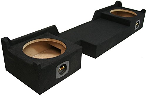 ASC Ford F150 Extended Super Cab Truck 2004-2008 Dual 10 Subwoofer Custom Fit Sub Box Speaker Enclosure