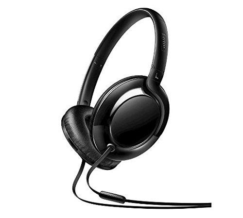 (Philips Headphones with Mic, Black (SHL4605BK/27))