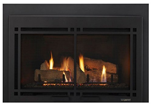 Monessen Hearth Systems Large Direct Vent Gas Insert w/IntelliFire Plus Ignition System - (Monessen Direct Vent Fireplace)