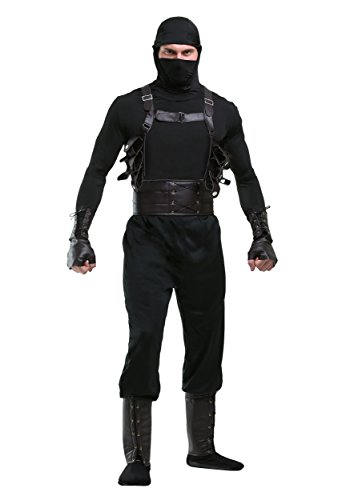 Ninja Assassin Mens Costume X-Large Black]()