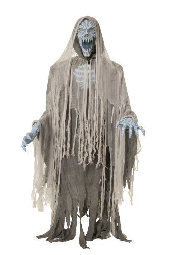 EVIL ENTITY LIFESIZE Haunted House 70in Halloween Prop Animated Ghost Zombie MR-124198 by Mario Chiodo -