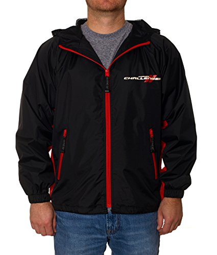 Dodge Challenger Wind Breaker a Fashion Apparel Sweatshirt for Men