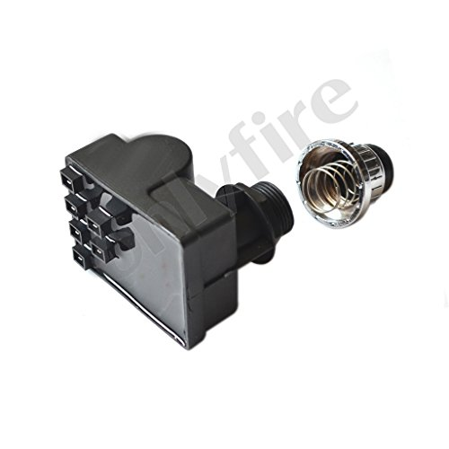Onlyfire 14461 Spark Generator BBQ Replacement for Select Gas Grill Models by Brinkmann, Char broil, Nexgrill, Kenmore Sears, Uniflame and Others, Silver
