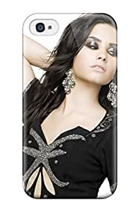 Defender Case For Iphone 4/4s, Demi Lovato Pattern