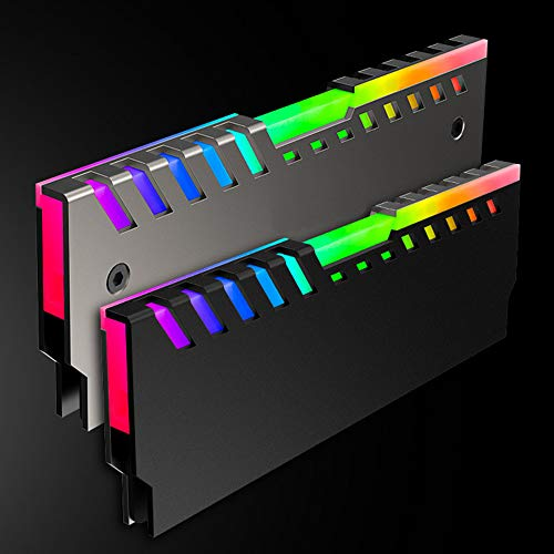 NEW Memory RAM Cooler Cooling Vest Fin Heat Sink For PC Game DDR2 DDR3 DDR4 T3H7