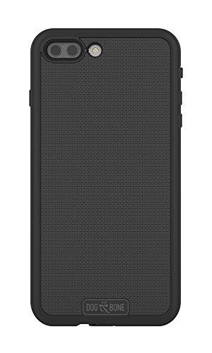 Price comparison product image Dog & Bone Wetsuit Impact - Rugged, Waterproof iPhone 7 Plus Case - Blackest Black