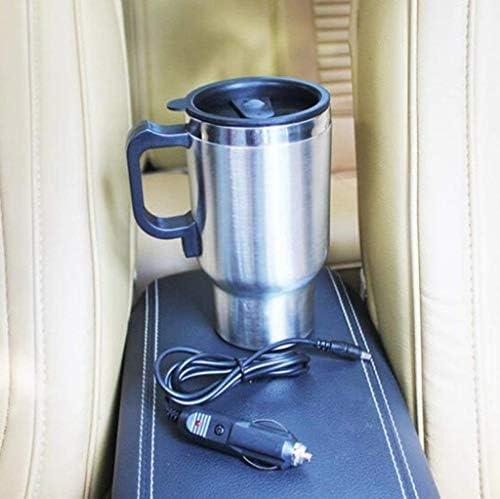 Automobile intelligente di raffreddamento & scaldino tazza portatile DC12V elettrico One-Button Riscaldamento Refrigerazione & Beverage Holder Mini Frigo Riscaldamento 450ML