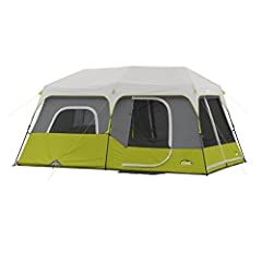 Sleeps 9 PeopleA 14' X 9' floor plan can sleep 9 adults in sleeping bags not counting additional gear. It can also sleep fewer campers with lots of luggage.Advanced VentingThese advanced vents draw cool air in from adjustable air intake vents...
